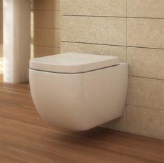 floating toilet [square].  makes it soooo much easier to clean the floor. Bathroom heaven.com