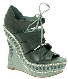 ASOS PROSPER Leather Wedge Sandal - Buy Online - Designer Sandals, Wedge