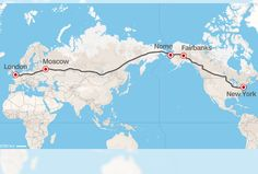 Ahora podríamos ir de Londres a Nueva York ¡en coche!