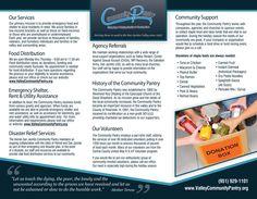 Hemet Community Pantry brochure inside