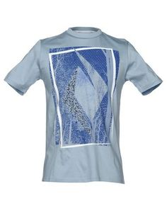 HAMAKI-HO Men's T-shirt Sky blue XXL INT
