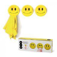 Handtuchhalter Smile 3er Set Bad Küchenhaken Küche Geschirrtuch Handtuch Halter
