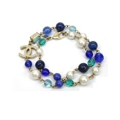 #DELORTAEAGENCY CHANEL 07A Necklace blue | SHOP TODAY in: #authentic #luxury #shopping #Chanel