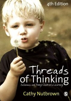 Threads of Thinking: Schemas and Young Children's Learning- this book explores the theory behind schemas very clearly, documenting Cathy Nutbrown's own research and making recommendations for effective practice to support children's schemas in the setting.