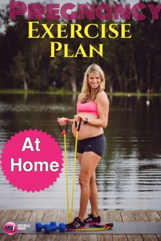 #Pregnancy Exercise Plan You Can Do From Home to feel good during pregnancy. Great nutrition tips for pregnancy on this blog. http://michellemariefit.publishpath.com/pregnancy-exercise-plan-you-can-do-from-home