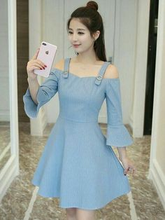 Jisoo as if it's your last Frock Fashion, Korean Fashion Dress, Indian Fashion Dresses, Girls Fashion Clothes, Teen Fashion Outfits, Cute Fashion, Cute Skirt Outfits, Pretty Outfits, Cute Casual Outfits