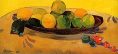 Paul Gauguin - with Tahitian oranges
