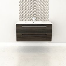 "Silhouette 36"" Wall Hung Vanity Set"
