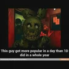 It's true!!! If u r a FNAF fan I ask u if u can follow me!!!