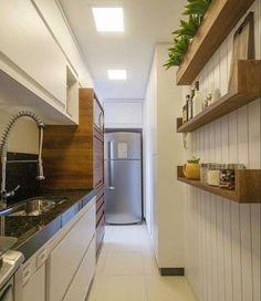 Cafe Interior Design, Home Design Decor, Kitchen Interior, Kitchen Decor, House Design, Kitchen Cabinet Remodel, Modern Kitchen Cabinets, Modern Kitchen Design, Small Condo