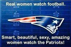 Patriots love women; women love the patriots
