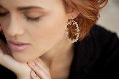 Barocco loop earrings
