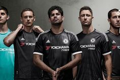 Chelsea FC 2015 16 Adidas Third Kit Football Soccer Kits