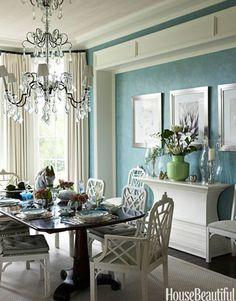 61 best blue dining room images lunch room homes kitchen dining rh pinterest com