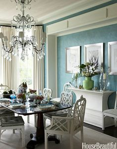 Charming Chairs and Dining Decor on Pinterest