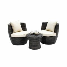 devonport 4 piece wicker patio conversation furniture set. i pinned this 3 piece madrid stacking patio set from the secret garden event at joss and main! devonport 4 wicker conversation furniture a