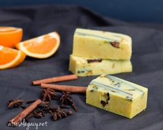 Homemade Cold Process Spiced Orange Soap Recipe