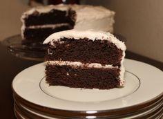 Alea's Gluten-Free Dairy-Free Chocolate Cake Recipe and link to GF Vanilla Cake
