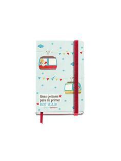 Cuaderno Logbook Best Seller diseñado por TuttiConfetti para MIQUELRIUS