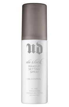 de-slick makeup setting spray