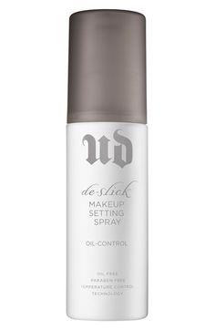 de-slick makeup setting spray