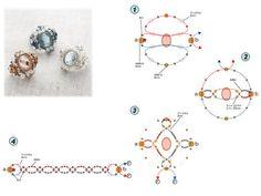 abalorios esquemas   abalorios: esquemas de anillos y colgantes « Variasmanualidades's ...
