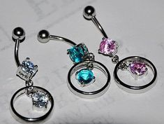 Cheap jewelry findings and components, Buy Quality jewelry braid directly from China jewelry palm Suppliers: Belly button navel ring belly piercing body piercing,body jewelry Bellybutton Piercings, Piercing Ring, Body Piercing, Piercing Ideas, Cute Jewelry, Body Jewelry, Kylie Jenner Piercings, Belly Button Jewelry, Gothic Beauty