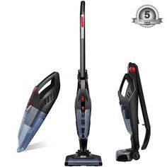 """""""Features & Benefits"""" Deik Vacuum Cleaner, 2 in 1 Cordless Vacuum Cleaner, High-power Long-lasting 22.2V 2200mAh Li-ion Battery Powered Rechargeable Bagless Stick and Handheld Vacuum with Upright Charging Base"""
