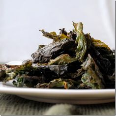 Chili Kale Chips and a tidbit on Oxalic Acid