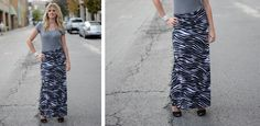 $14.99 Animal Print Maxi Skirts SASSY STEALS