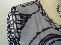 Marcy Tilton - TUTORIALS - double layer for sewing with shear knits