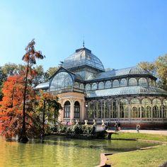 Palacio de Cristal, Madrid.