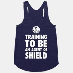 Training to be an Agent of Shield | HUMAN @Andrea Rauws I so want this if I ever go back to the gym