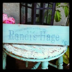 Wood sign: print and rub My Works, Wood Signs, Chair, Home Decor, Recliner, Homemade Home Decor, Wooden Signs, Decoration Home, Chairs