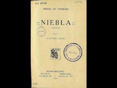 Audiolibro completo: 'Niebla', de Miguel de Unamuno (1914) 🎧 📚 Youtube, Drinks, Human Voice, The Voice, Meals, Drinking, Beverages, Drink, Youtubers