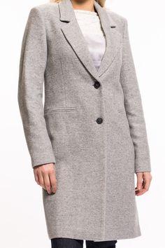 Premium Mantel von oui   2 Knöpfe zum Schließen  gefüttert  langärmlig  gerader Schnitt  ein absolutes Must-have der Saison   Material: 70% Wolle, 30% Polyamid