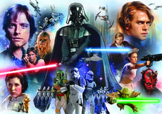 "Puzzle EDUCA ""Star Wars"", 3.000 piezas #starwars #darthvader #yoda #r2d2 #c3po #lukeskywalker #hansolo #chewbacca #bobafett #darthmaul"