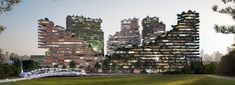 GG-loop clads biophilic housing proposal in amsterdam with parametric timber facade