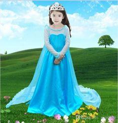 Elsa Frozen Dress For Girls