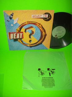 The Beat – What Is The English Beat? Vintage VINYL LP Record #EnglishBeat #ska  #NewWave