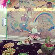 Neverland birthday party