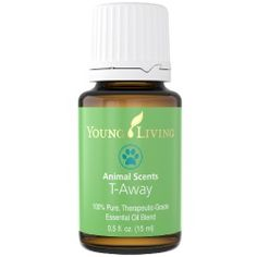 <p> Animal Scents T-Away Essential Oil for Pets and Horses contains twenty-six essential oils which soothes pet stress and supports release of emotional baggage.</p>