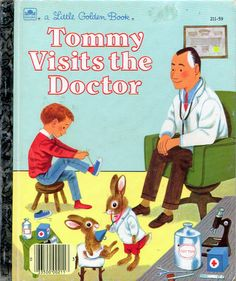Tommy Visits the Doctor, Illustrations by Richard Scarry, 1962, Reissue