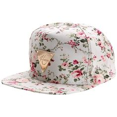 0b3091332ab Zeagoo Floral Flower Snapback Hip-Hop Hat Flat Peaked Adjustable... ( 6.98