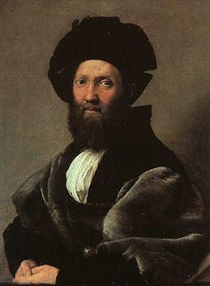 Il miglior sostituto della Gioconda-Raphael Santi or Sanzio,  1483-1520  Baldassar Castiglione