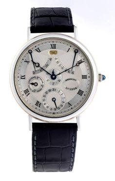 Breguet Classique complications 3477, Platin - Breguet Äquation, ewige Zeitgleichung - Breguet Equa — Armbanduhren