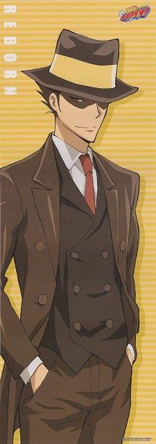 Akira Amano, Katekyo Hitman Reborn!, Reborn (Character), Stick Poster
