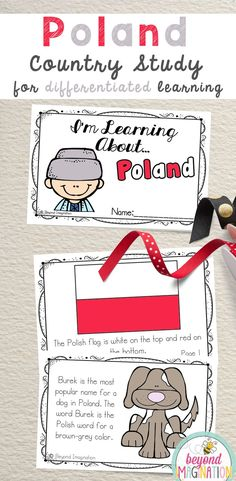 Poland Fun Fact country study booklet is perfect to use for an around the world unit, an international day, an international festival, a social studies unit, a cultural school project, a geography project, a cultural day, a cultural fair, a field day, or a multicultural day. #Poland #country #booklet #study #tpt #gradeone #gradetwo #gradethree #gradefour #kindergarten