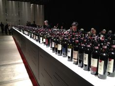 Last year Chianti Classico Collection 2012 bottles row @chianticlassico #Leopolda www.chianticlassico.com