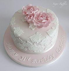Birthday Cake Last Minute Birthday Cake Really Yummy. Birthday Cake Glamorous Dusky Pink Birthday Covered In Fondant. Elegant Birthday Cakes, Classy 21st Birthday, 21st Birthday Cake For Girls, 21st Birthday Cake Toppers, Buttercream Birthday Cake, 21st Cake, Birthday Cake Decorating, Cool Birthday Cakes, Elegant Cakes